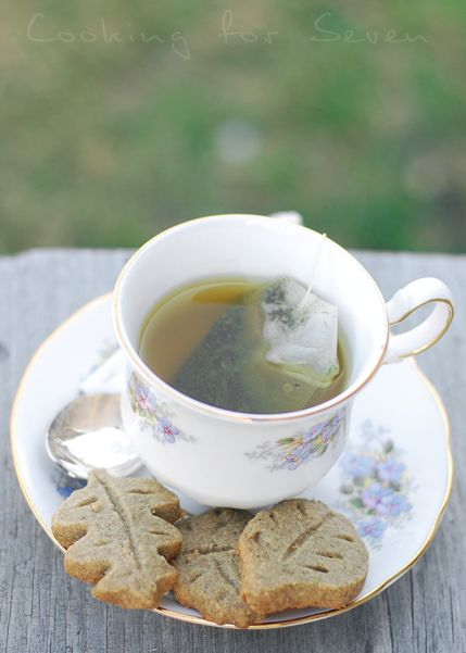 Green Tea Shortbread Cookies | Design for life | Pinterest ...