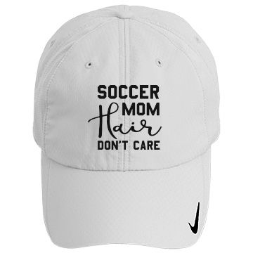 Soccer mom hair | Customized soccer mom hat for those sunny days on the side lines.
