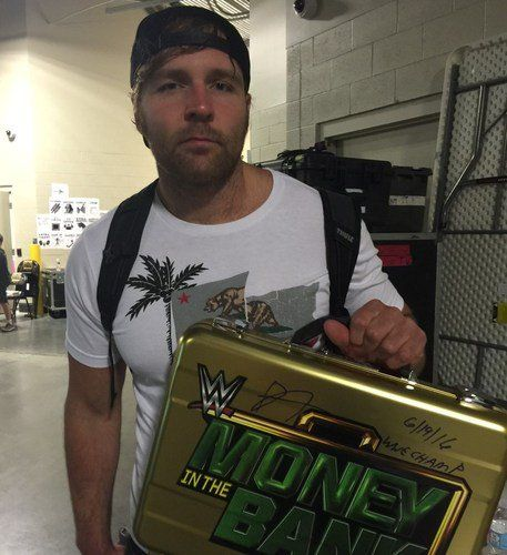 WWE Auction: signed #MITB Replica Briefcase #DeanAmbrose #WWE Daily Ambrollins (@DailyAmbrollins)   Twitter