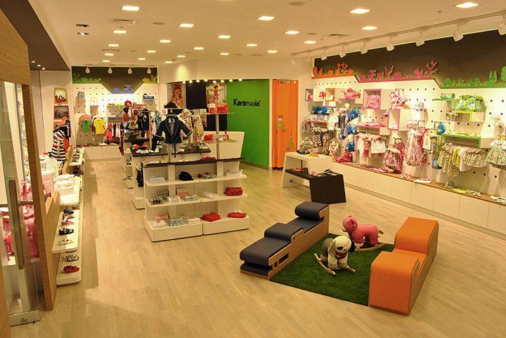 Design si Amenajari interiorare Magazine cu hainute pentru copii