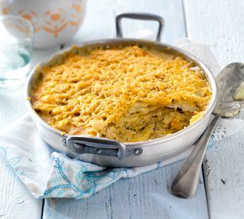Aardappelgratin met boerenkaas - Recept - Jumbo Supermarkten