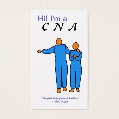 cna business card template nurse pinterest card templates