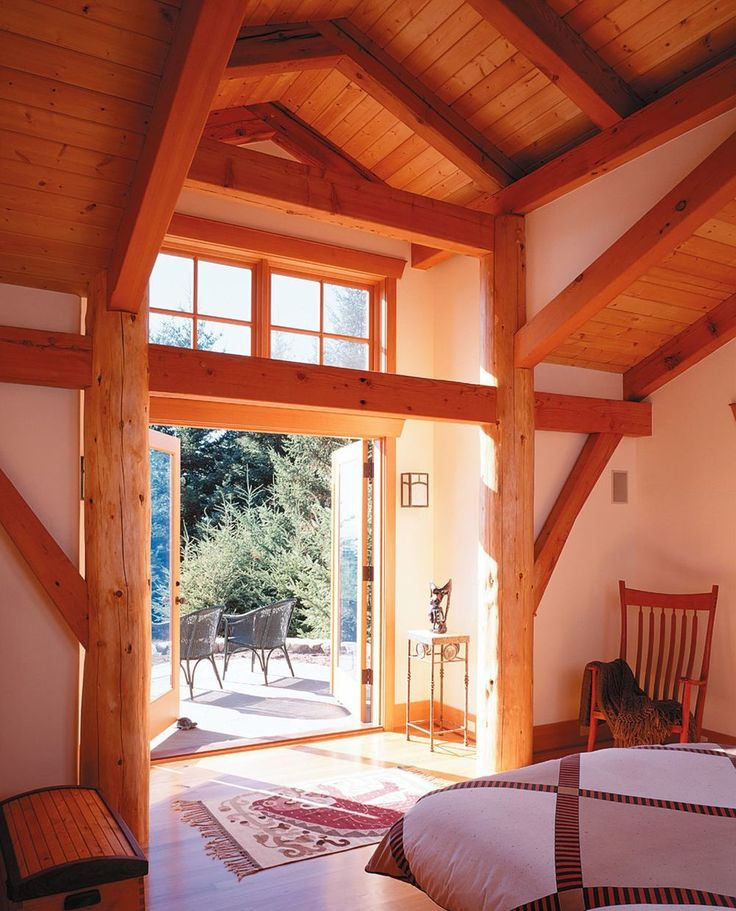 Homes On Pinterest Studio Interior Timber Frame Homes And Cabin