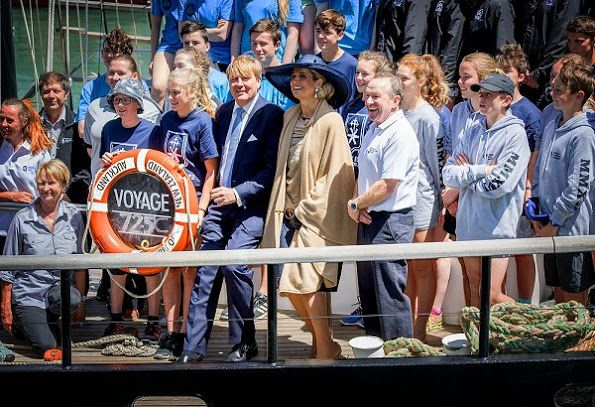 ♥•✿•QueenMaxima•✿•♥...King Willem-Alexander and Queen Maxima visit New Zealand, Auckland