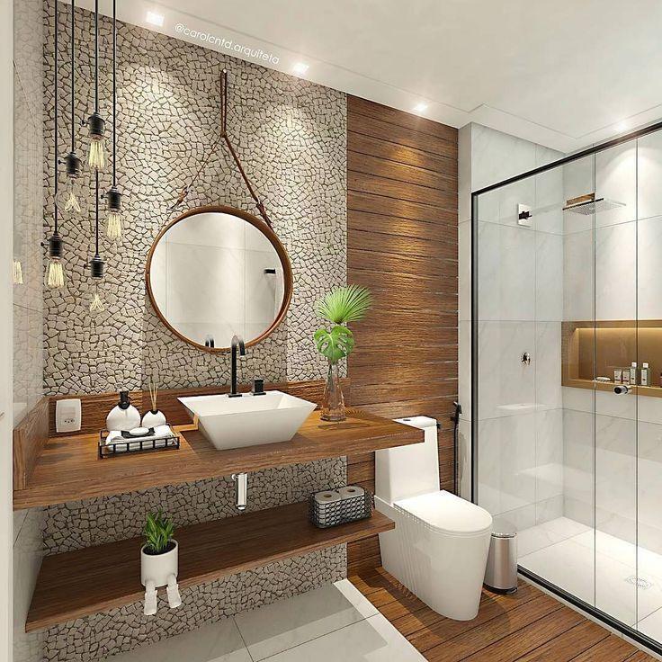 50 Amazing Small Bathroom Remodel Ideas Desain Interior Rumah