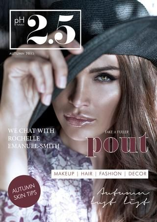 pH2.5 | Vol. 3 | Autumn 2015 - the cooler months are setting in for those of us in the southern hemisphere… take inspiration from the pages of Alpha-H's Autumn edition of pH2.5 which highlights the seasons key looks in beauty, skincare, fashion, home and travel #autumn #trends #fashion #beauty #2015