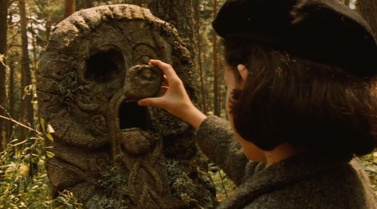 Image result for pan's labyrinth statue eye