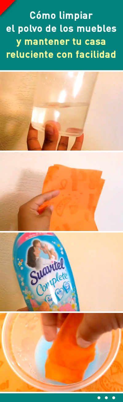 Cómo limpiar el polvo de los muebles y mantener tu casa reluciente con facilidad #limpieza #casa #mueble #polvo #trucos