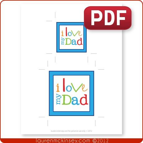 {think cute designs} i love my dad! | Lauren Mckinsey