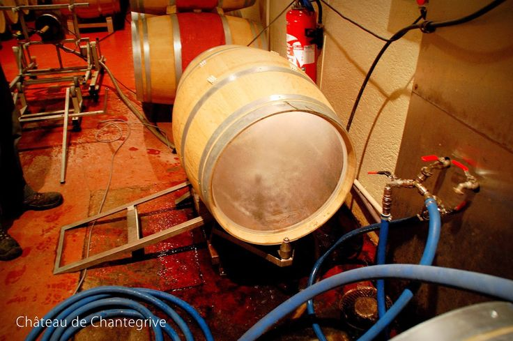 Les thermes de Chantegrive : Soutirages et Thalasso de barriques ! blog château de Chantegrive