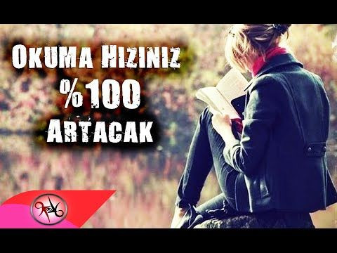 Okuma Hızınızı Anında %100 Arttıracak Video - Korzay Koçak - YouTube