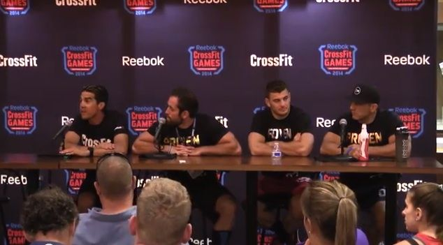 Check out the raw footage of the 2014 CrossFit Games media conference, held shortly after the final event of the 2014 CrossFit Games.