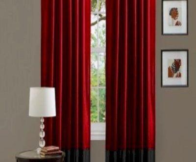 30 Conception d'une fenêtre avec les beaux rideaux
