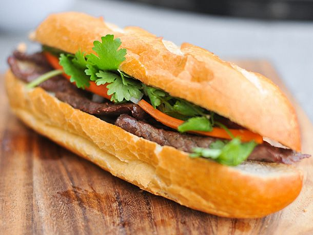 ... Steak Sandwiches, Asian Food, Banh Mi, Grilled Steak, Serious Eating
