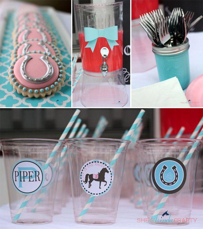 Pretty Horses & Hairbows Third Birthday Party