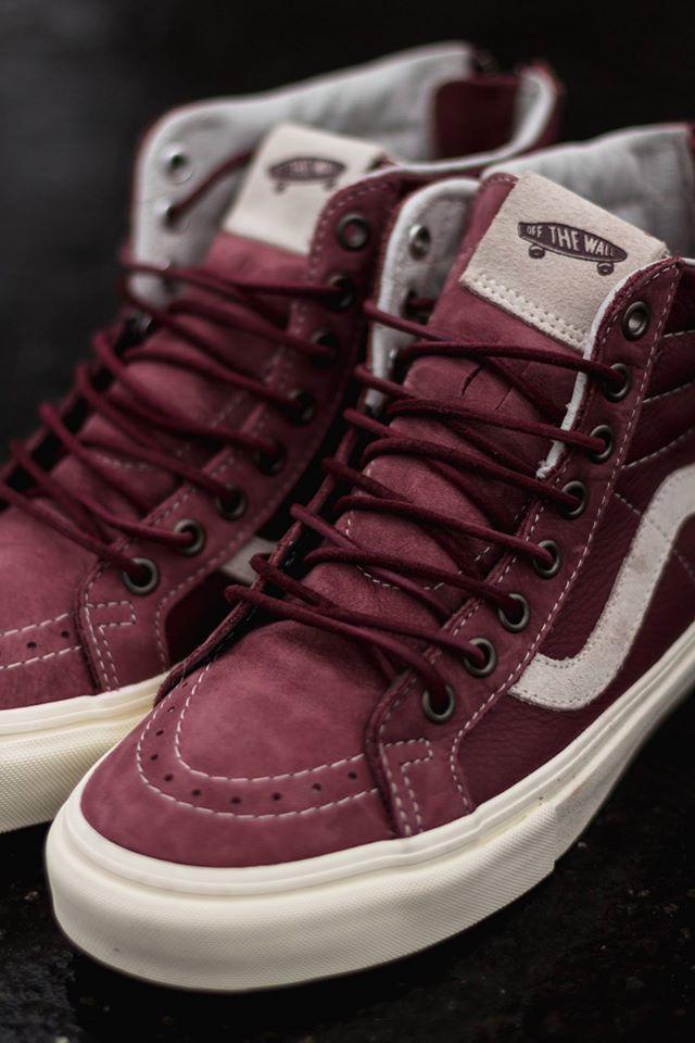 Vans Sk8-Hi Zip CA #sneakers #vans