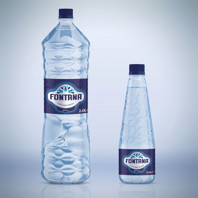 Fontana Pure Table Water on Packaging of the World - Creative Package Design Gallery