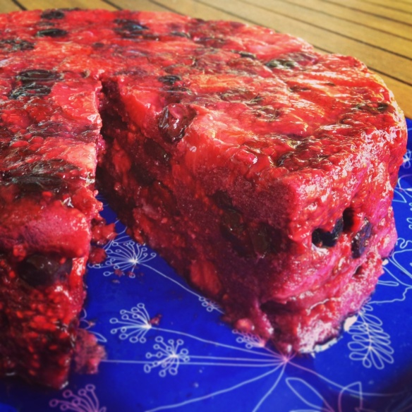 Very Berry Summer Pudding Cake | I Cake! | Pinterest