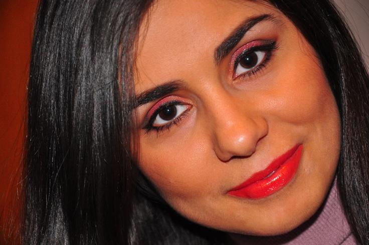 Girls' night uot makeup