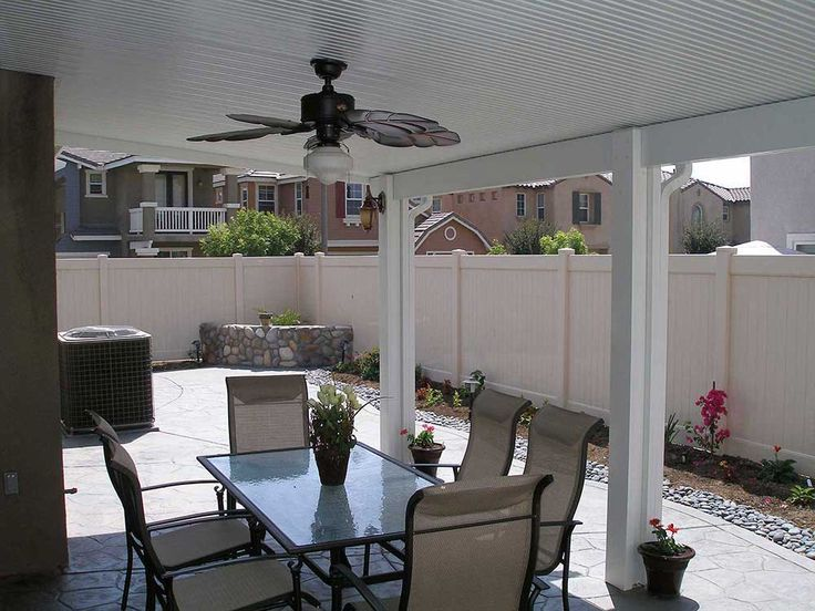 Orange County Solid Patio Covers From California Construction Are Far  Superior To Wood Patio Covers. Find Out Why With Our Wood Vs Aluminum Patio  Covers ...