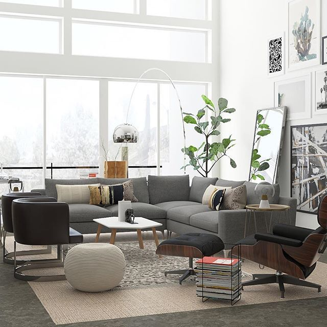 62 best Mid-Century Modern Living Room Design Ideas images ...