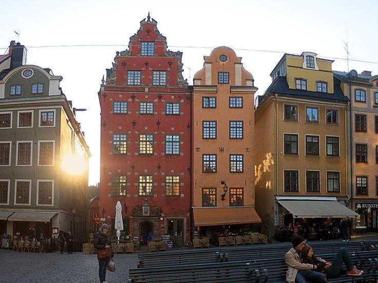 Gamla Stan in Stockholm, Sweden (by Savier)