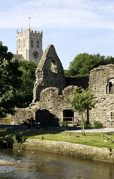 Christchurch, Dorset. Love the river walk by the Priory.