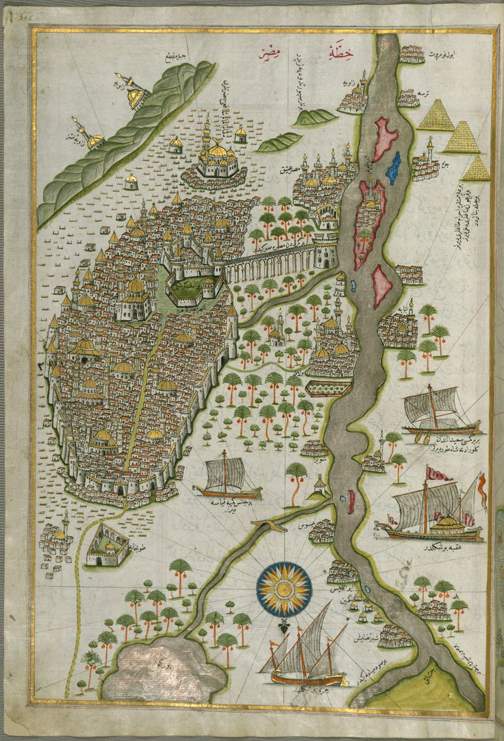 16th century Cairo as drawn by the