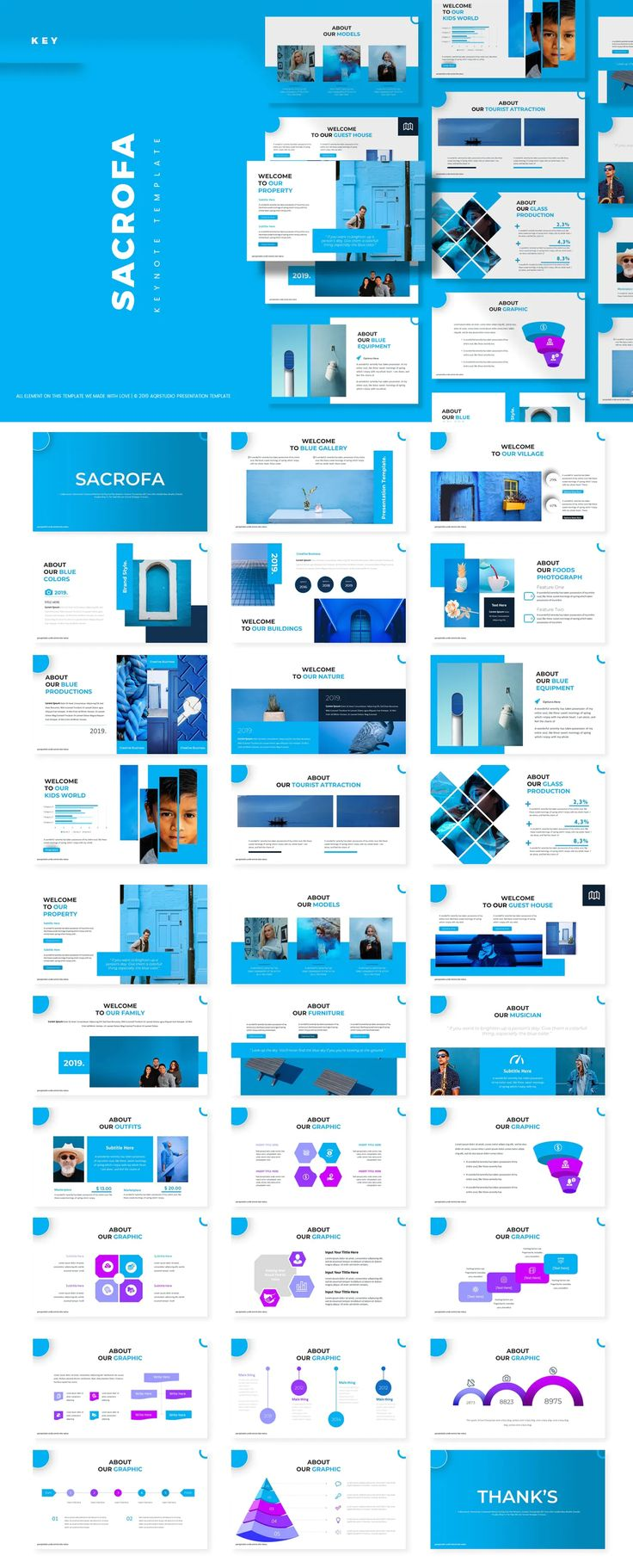 Sacrofa - Keynote Presentation Template