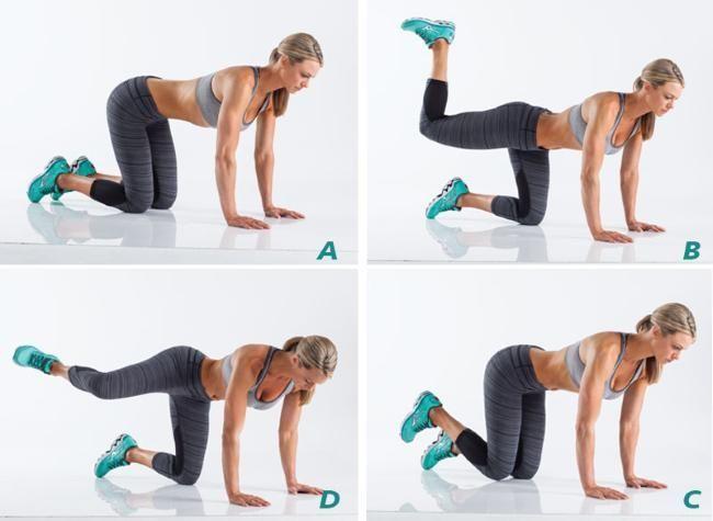 Best 25 Glute Workouts Ideas On Pinterest  Posture -2549