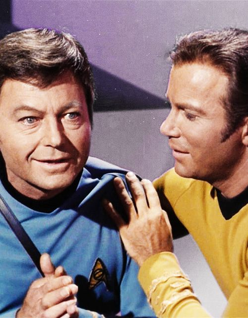 Bones and Kirk (Star Trek)