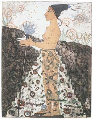 Kirsi Neuvonen, Peruvian Flower Girl (1991)