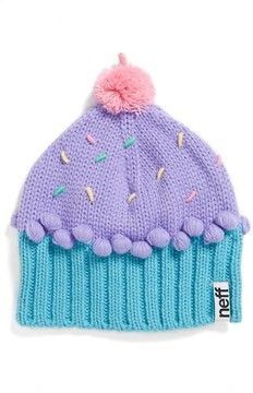 56442334ba0e6 Neff  Cupcake  Beanie (Girls) on shopstyle.com  28