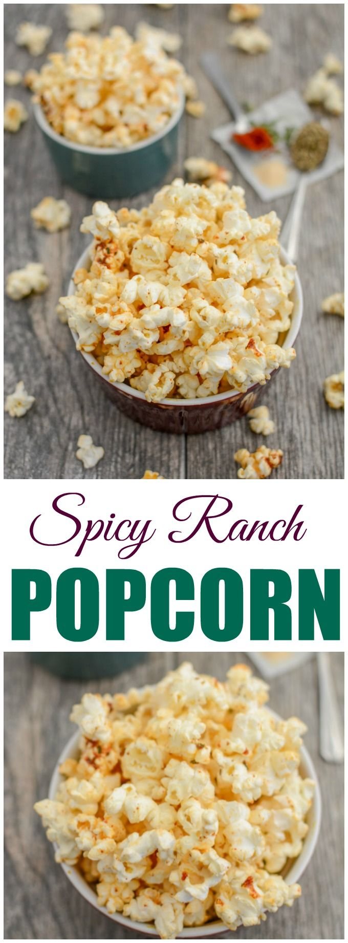 (AD) This recipe for Spicy Ranch Popcorn is a helpful snack to keep on hand if you're trying to quit smoking and an urge to smoke strikes! Stash some at work or in your purse to get you through a long afternoon!