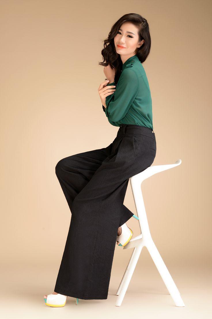 32 best Wide leg pants images on Pinterest