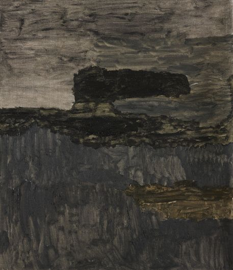 Andreas Eriksson Landskap 7, 2012 Oil on canvas 74,5 x 64,5 cm