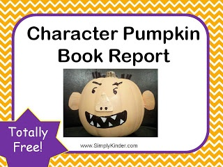 halloween book report projects Book reports don't have to be boring help your students make the books they read come alive with these 12 creative book report ideas and examples.