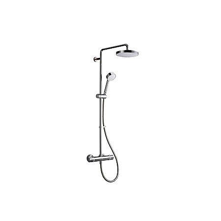 Mira Atom ERD Chrome Thermostatic Bar Mixer Shower with Diverter | Rooms | DIY at B&Q