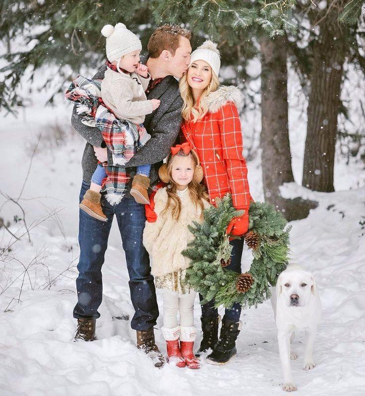 Фотосессия семьей на улице зимой идеи фото позволяет