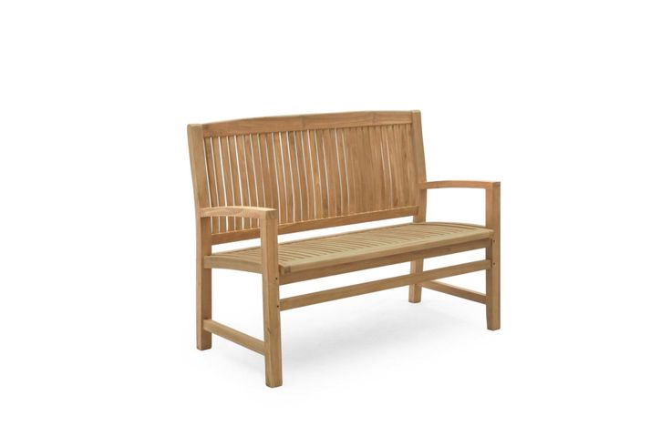 Teak bench available in three sizes