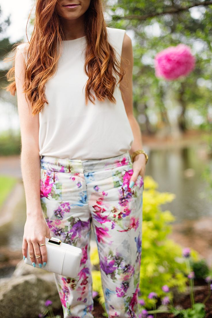 Floral Trousers www.retro-flame.com