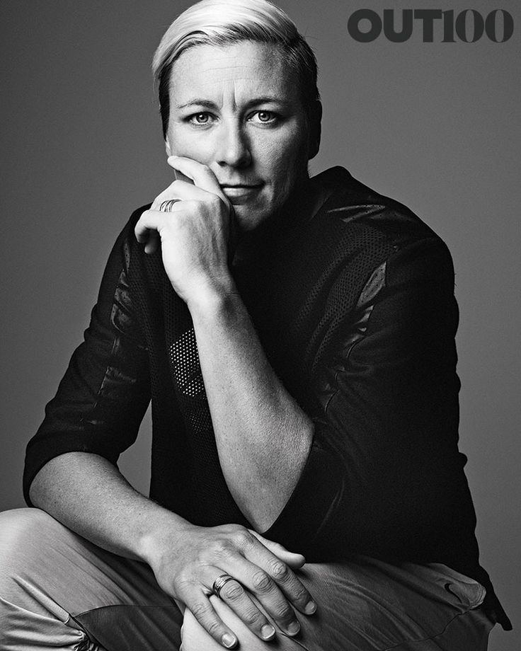 Out100: Abby Wambach | she looks great even in black and white