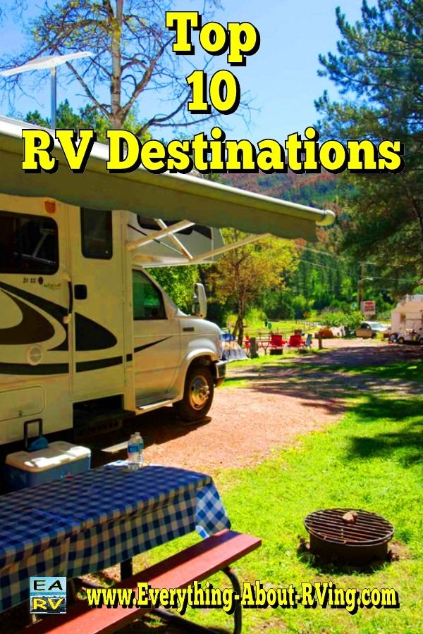 Top 10 RV Destinations