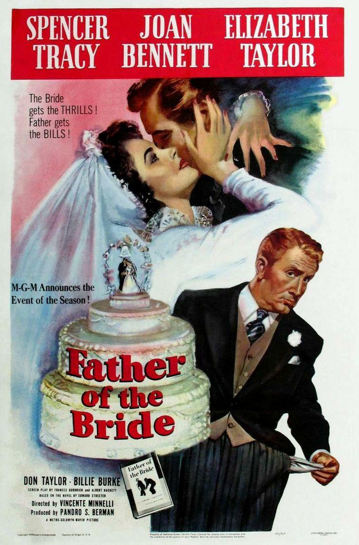 """Ya no se hacen comedias así... Mil veces mejor que el """"remake"""" con Steve Martin. En España se llamó """"El padre de la novia"""", y Spencer Tracy está genial"""