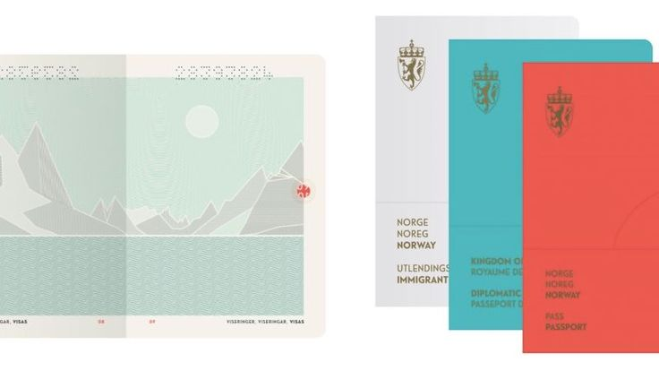 """Apparently Norway has the world's """"most attractive"""" passport design"""