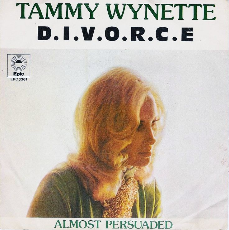 """May 1968: Tammy Wynette releases the song """"D-I-V-O-R-C-E"""" (recorded March 22) which hits number one on the Billboard Hot Country Singles chart in June, and reaches No. 63 on the Billboard Hot 100 pop chart."""