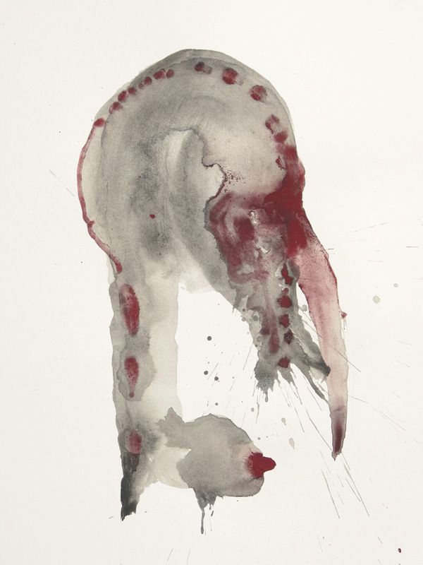 Morphè II - Inks and pigments on paper - 32x24 cm - 2011 - Alessio Pierro