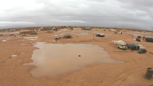 Las lluvias torrenciales causan estragos en los campamentos saharauis de Tinduf | Blog de Noticias - Yahoo Noticias
