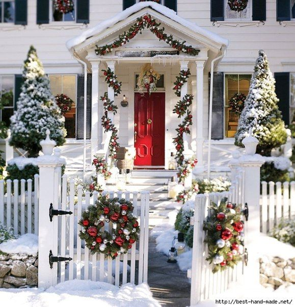 Outdoor Xmas Decorations, Outdoor Christmas Decorating Ideas Pictures,  Christmas Ornaments Outdoor, Christmas Outdoor