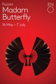 Madam Butterfly poster, ENO.